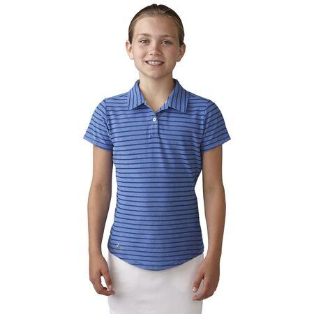 Girls Essential Cotton Hand Stripe Polo