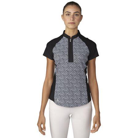 Fashion Print  Short Sleeve Polo